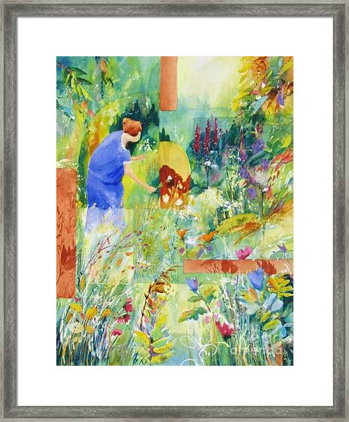 May Meadow Framed Print