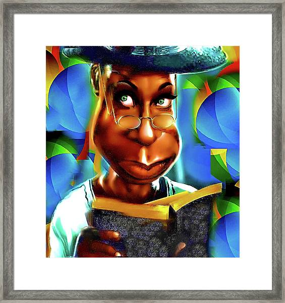 Maybe God Is Trying To Tell You Something Framed Print
