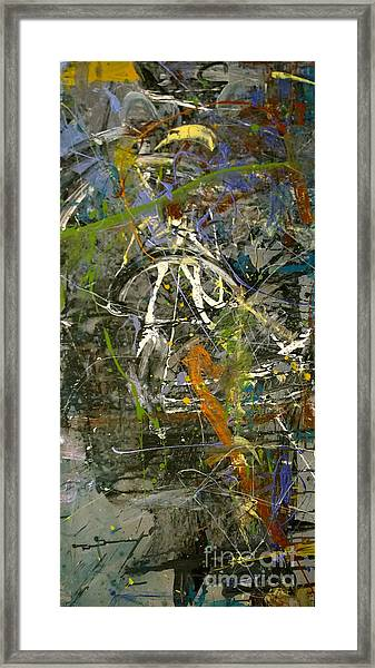 'maybe Guitar' Or Abstract 42515 Framed Print