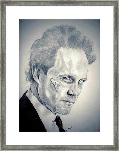 Mayhem Framed Print