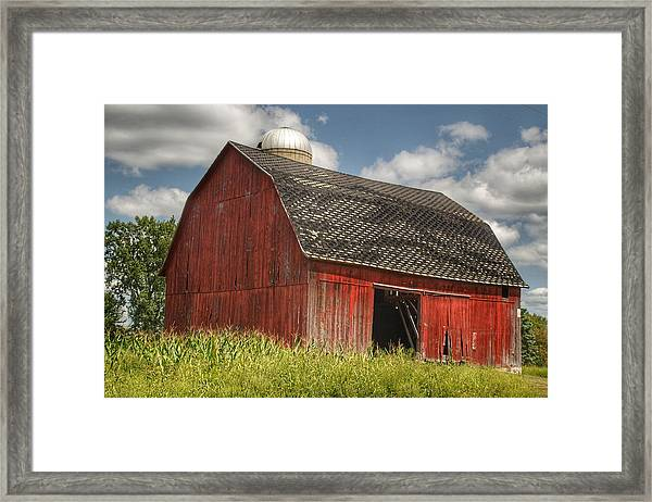 0023 - Mayville Red I Framed Print