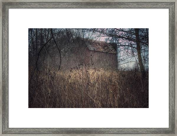 0025 - Mayville's Hidden Barn I Framed Print