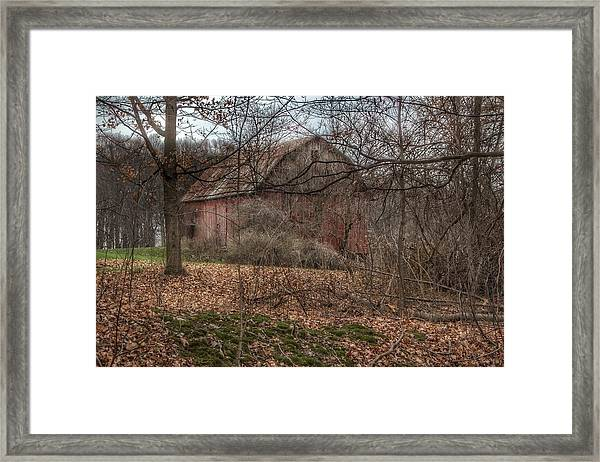 0026 - Mayville's Hidden Barn II Framed Print