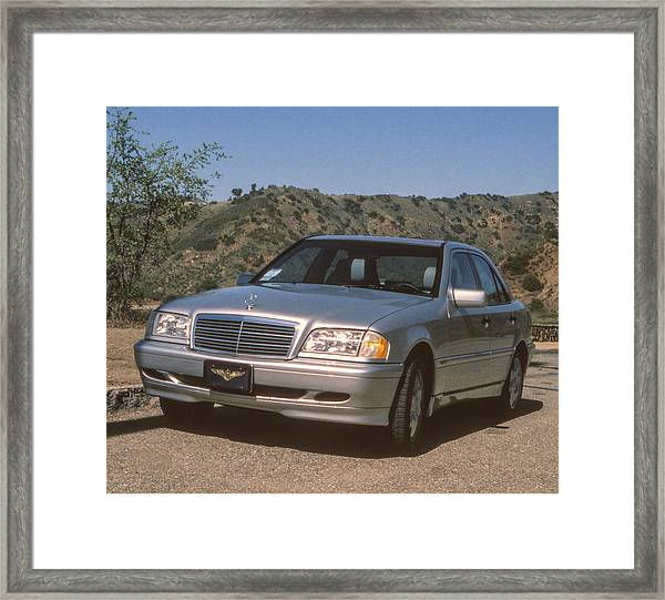 Mbz C280 Birthday Framed Print