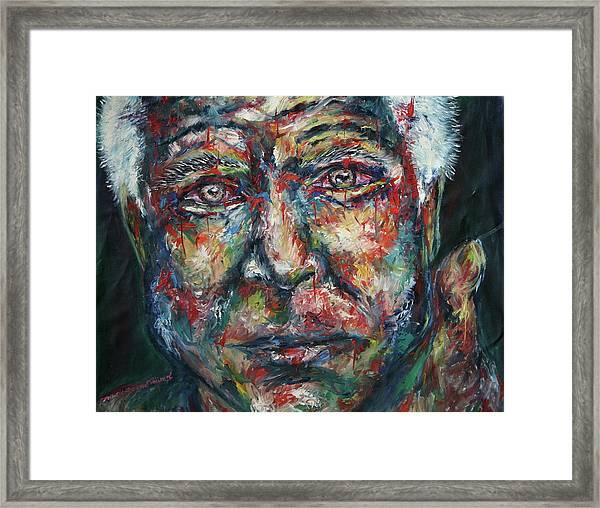 Mccain Framed Print by Joseph Lawrence Vasile