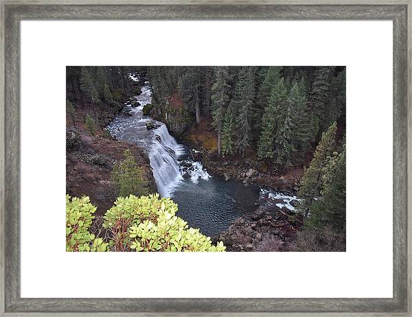 Mccloud River Falls Framed Print