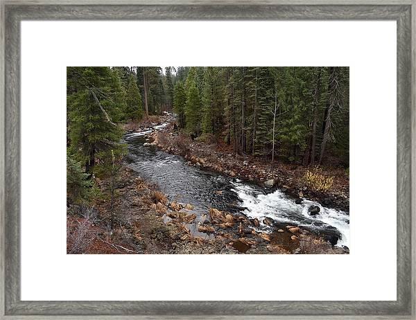 Mccloud River Framed Print