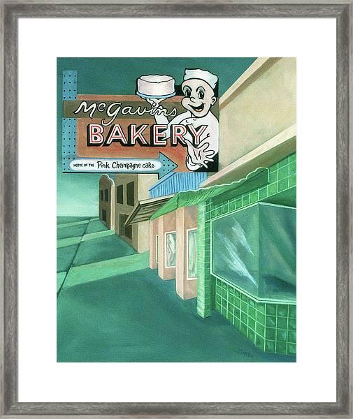 Mcgavins's Bakery Framed Print