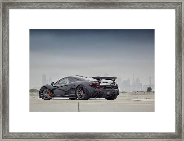 #mclaren Mso #p1 Framed Print