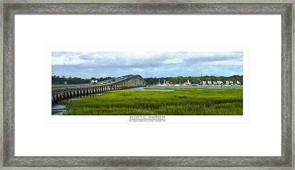 Mcteer Bridge Framed Print