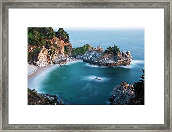 Mcway Bay Framed Print