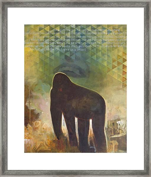 Me Jane Framed Print