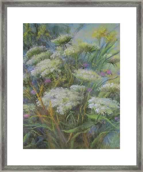 Meadow Bouquet Framed Print