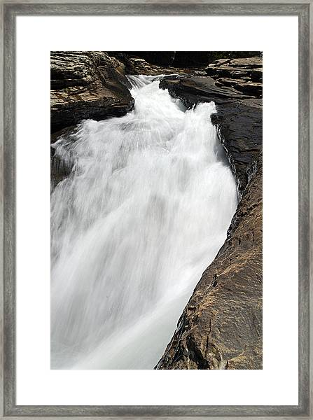 Meadow Run Water Slide 1 Framed Print