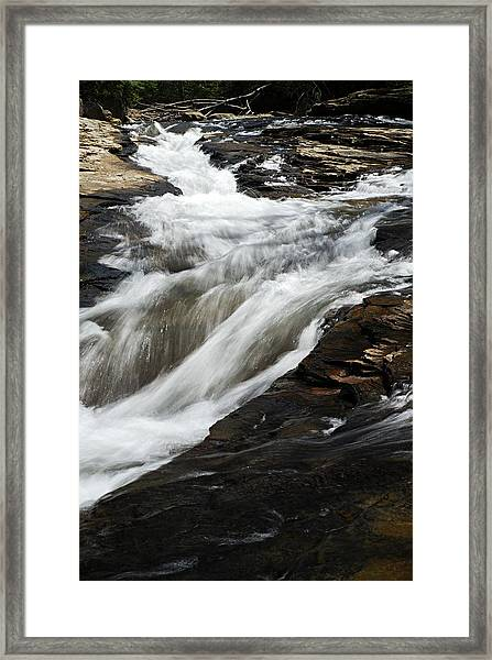 Meadow Run Water Slide 2 Framed Print