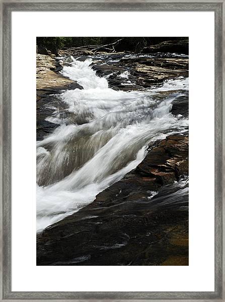 Meadow Run Water Slide 2 Framed Print