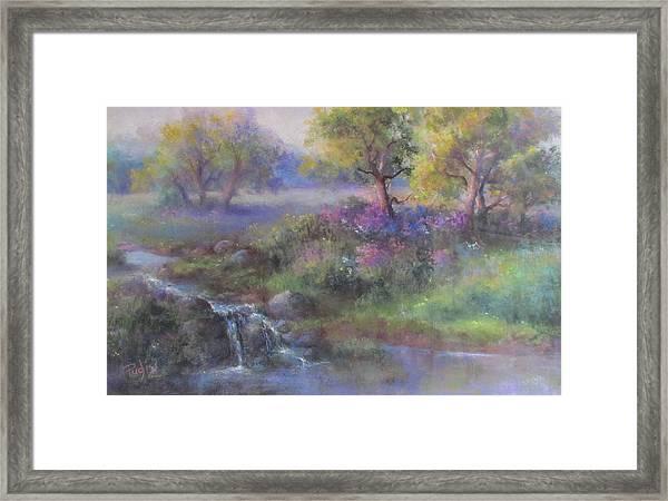 Meadow Spring Framed Print