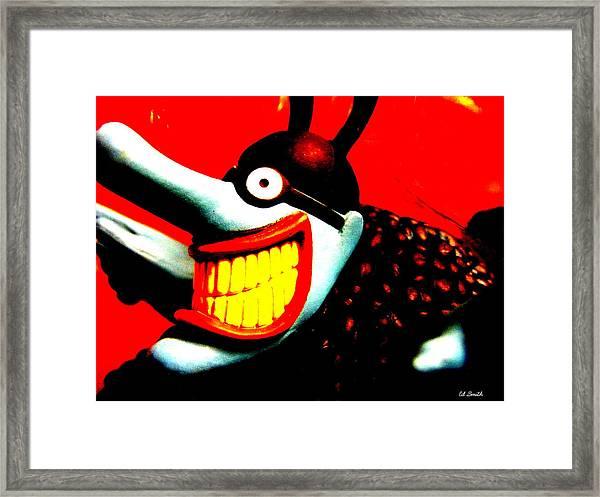 Meanie Framed Print