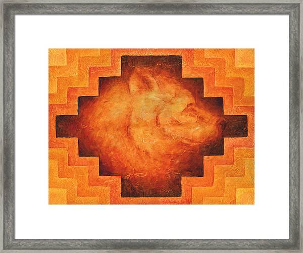 Medicine Bear Framed Print