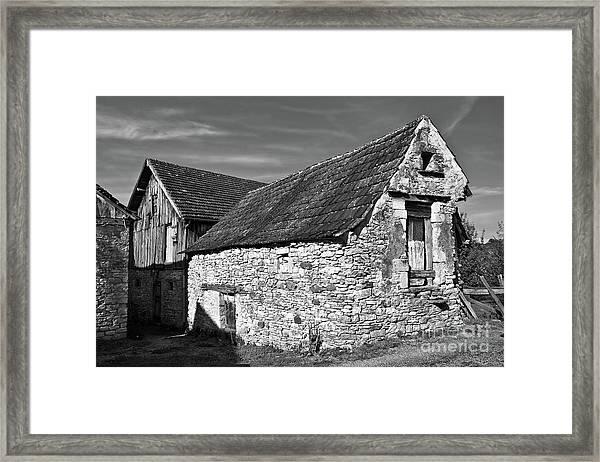 Medieval Country House Sound Framed Print