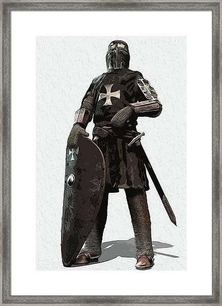 Medieval Warrior - 06 Framed Print