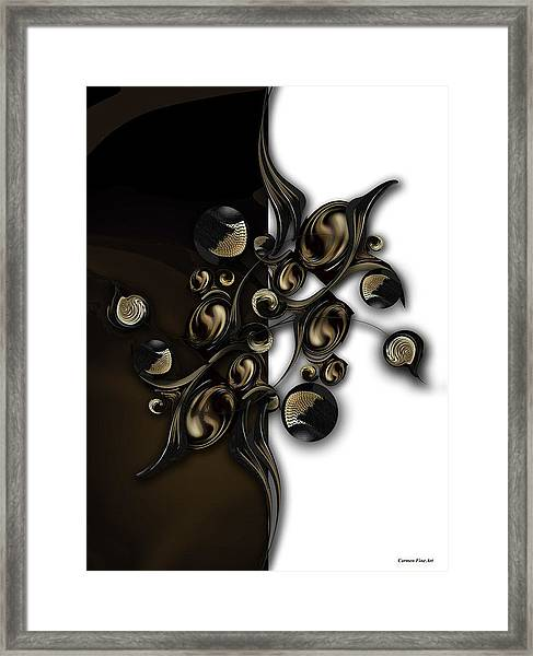 Meditation Vs Dimension Framed Print