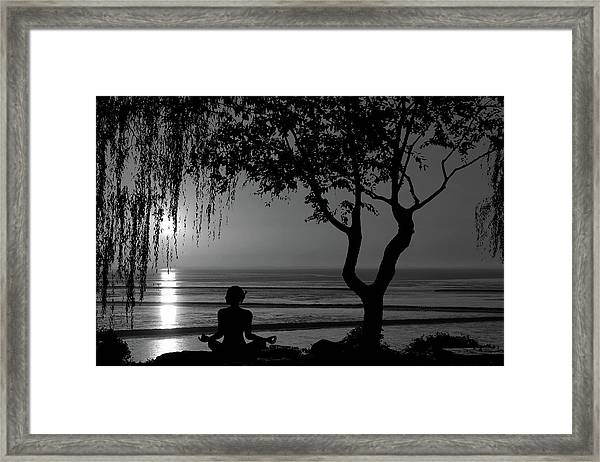 Meditative State Framed Print