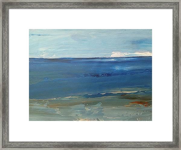 Mediterraneo Framed Print