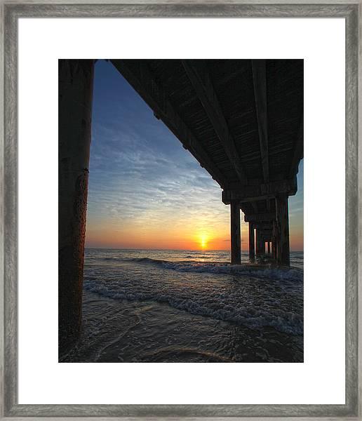 Meeting The Dawn Framed Print