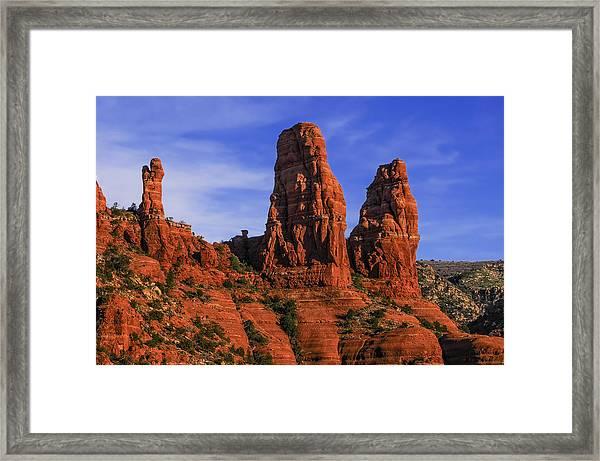 Megalithic Red Rocks Framed Print