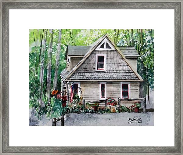 Melissa's Mountain Escape Framed Print