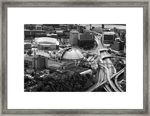 Mellon Arena  Framed Print