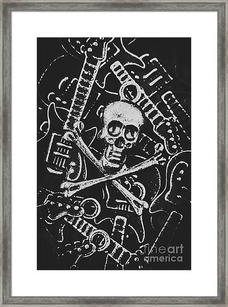 Melodic Death Metal Framed Print