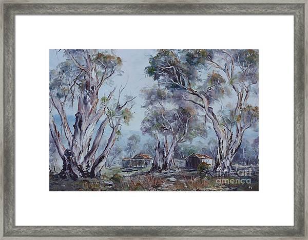 Melrose, South Australia Framed Print