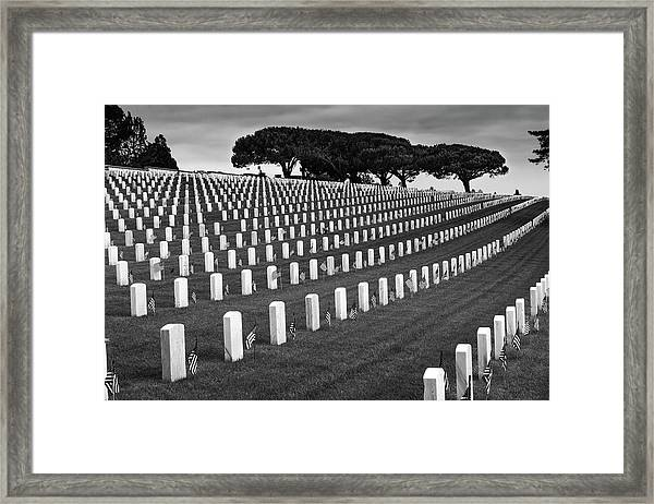 Memorial Day 2016 - Fort Rosecrans Framed Print