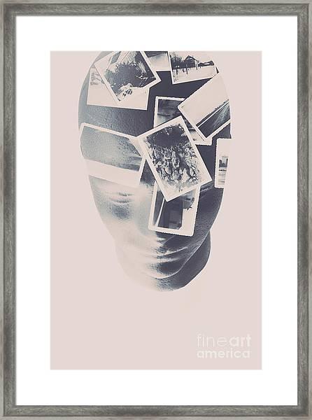 Memories Beyond The Mind Framed Print