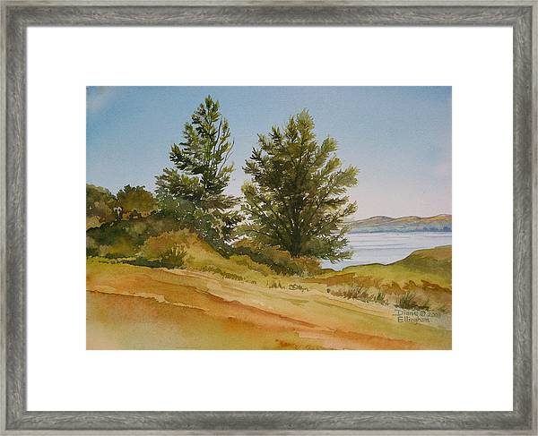 Memories By The Lake Framed Print