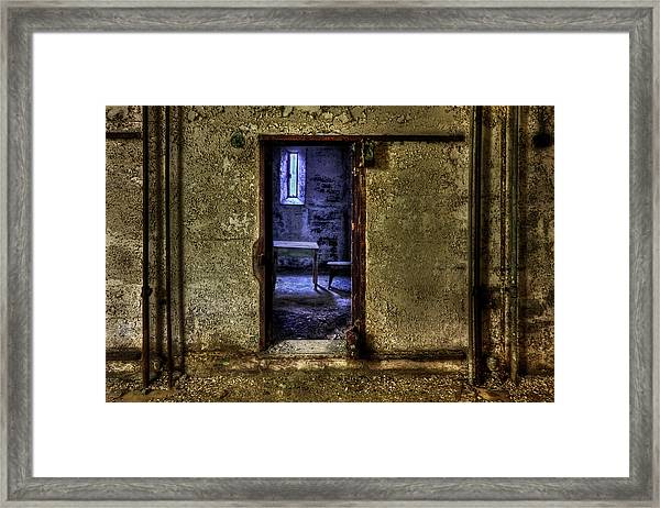 Memories From The Room Framed Print