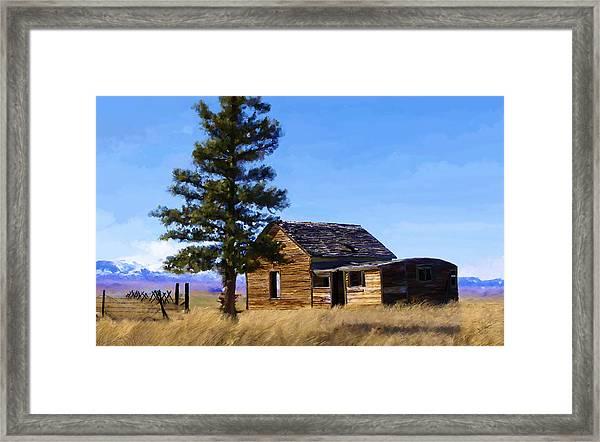 Memories Of Montana Framed Print