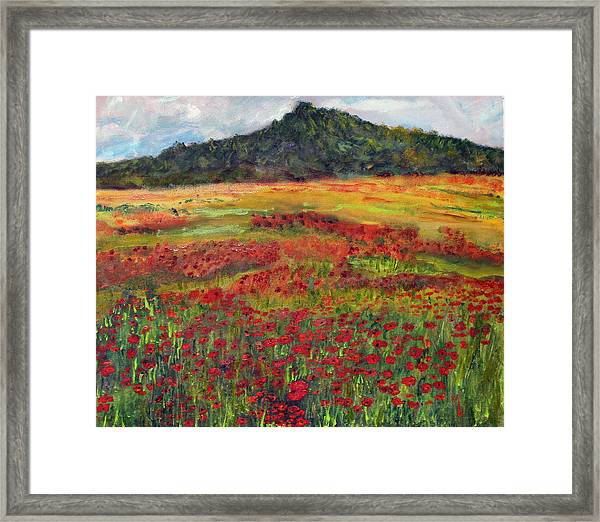 Memories Of Provence Framed Print
