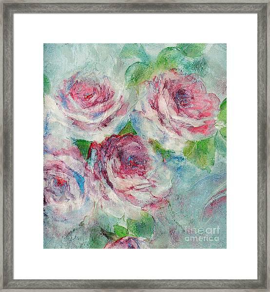 Memories Of Roses Framed Print