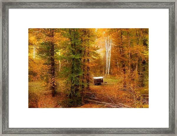 Memories Of Seasons Past  Framed Print