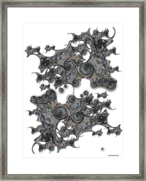 Memories Of Silent Creation Framed Print