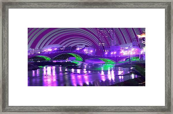 Framed Print featuring the digital art Memory 2142 by Brian Gryphon