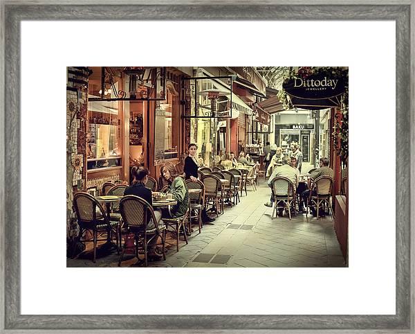 Memory Lane Arcanum Edition Framed Print