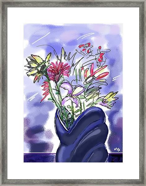 Memory Of Spring Framed Print
