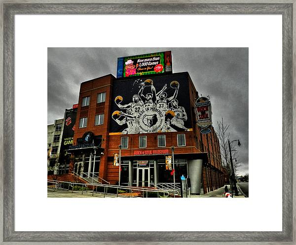 Framed Print featuring the photograph Memphis - Rock 'n' Soul Museum 001 by Lance Vaughn