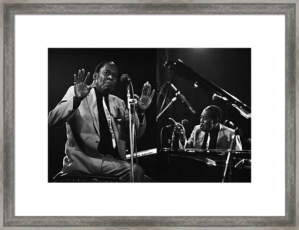 Memphis Slim Framed Print