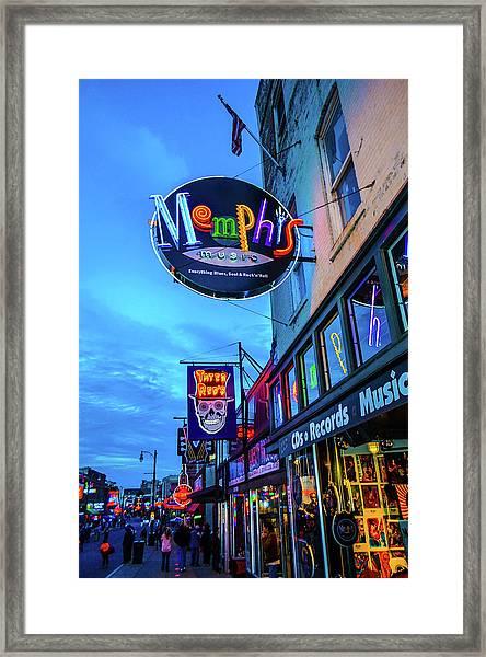 Memphis Soul Framed Print