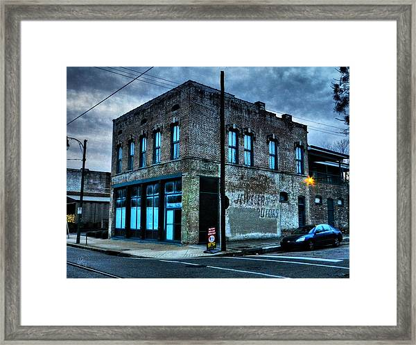 Framed Print featuring the photograph Memphis - South Main 001 by Lance Vaughn